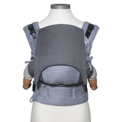 Fidella Fusion babycarrier with buckles - Lines - light blue