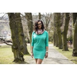 Angel Wings Ladies dress - emerald
