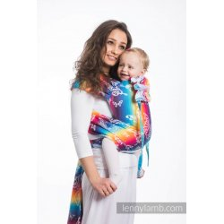 LennyLamb WRAP-TAI nosítko Butterfly Rainbow Light