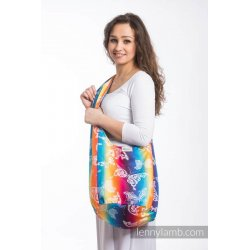 LennyLamb Hobo taška Butterfly Rainbow Light