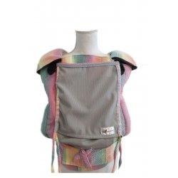 Lenka ergonomické nosítko - 4ever - Cukřík - šedá síťka