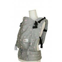 Lenka ergonomické nosítko - 4ever - Hvězdy - stříbrné