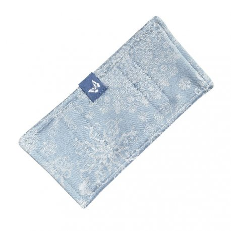 Fidella Drool Pads - Iced Butterfly - light blue