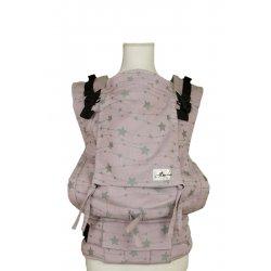 Lenka ergonomické nosítko - 4ever - Hvězdy - růžové