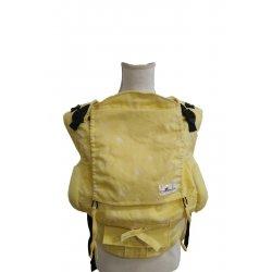 Lenka ergonomické nosítko - 4ever - Hvězdy - žluté