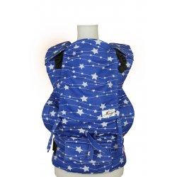 Lenka ergonomické nosítko - 4ever - Hvězdy - modré