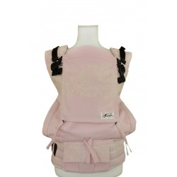 Lenka ergonomical babycarrier - 4ever - Lace - rose