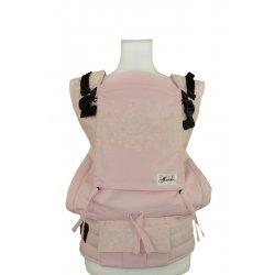 Lenka ergonomické nosítko - 4ever - Krajka růžová