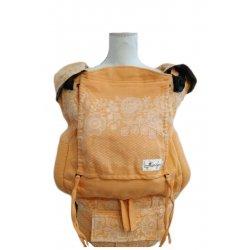 Lenka ergonomical babycarrier - 4ever - Lace - tangerine