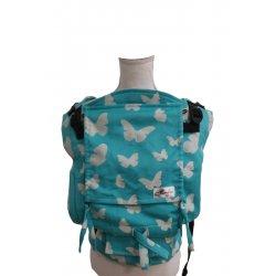 Lenka ergonomical babycarrier - 4ever - Butterflies -azzure