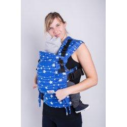 Lenka ergonomical babycarrier - Adjustable - Stars blue