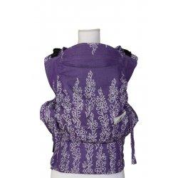 Lenka ergonomical babycarrier - Orchidea violet