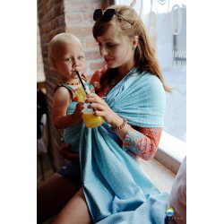 Little Frog Ring Sling Lovely Azure