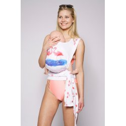Kokadi baby carrier tai-tai Aquarell Kollektion Flamingo
