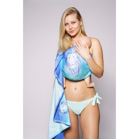 Kokadi ring sling šátek do vody - Aquarell Aslan