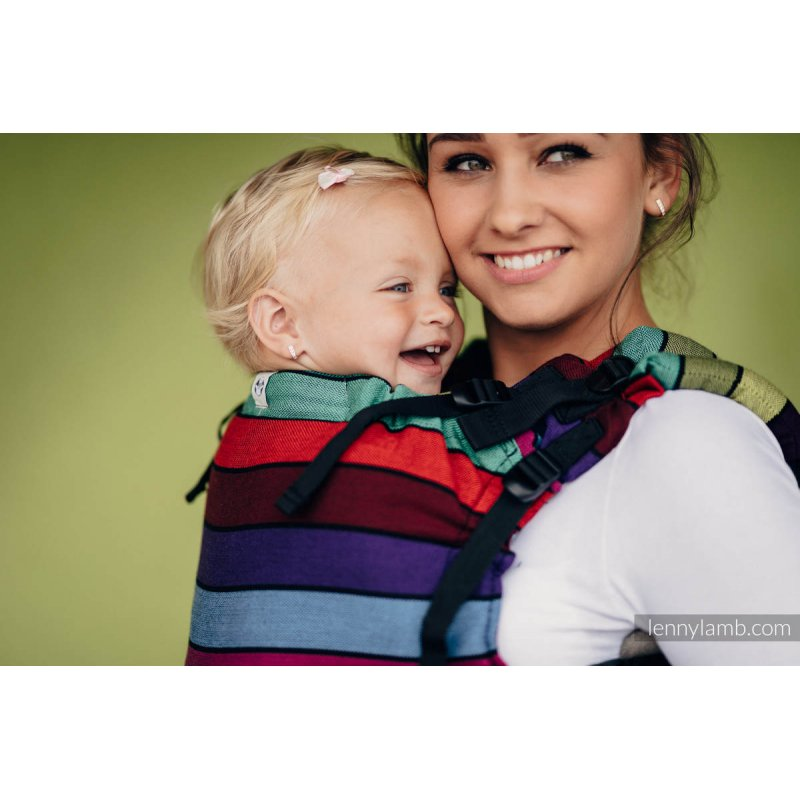 fee8c83722f LennyLamb LennyUp adjustable ergonomic carrier Carousel Of Colors ...