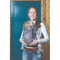 PURE BABY LOVE BABY CARRIER HAPPINESS GREY
