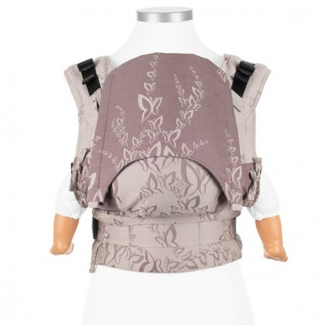Fidella Fusion babycarrier with buckles - Feel Free - Lilac Grey