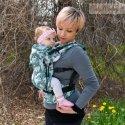 BabyMonkey ergonomické nosítko Regolo Unicorns Smeraldo Glitter