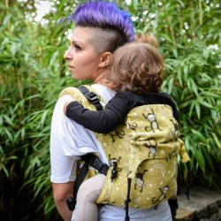 BabyMonkey ergonomic carrier Regolo LittleMonkey Curry