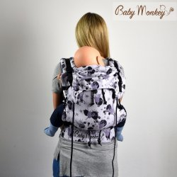 BabyMonkey ergonomické nosítko Regolo Dancing Fairy Kala Namak Reverse