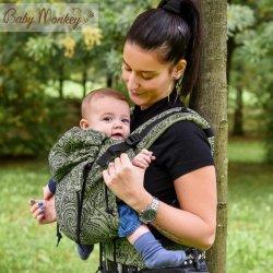 BabyMonkey ergonomic carrier Regolo Mehindi Sage