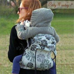 BabyMonkey ergonomic carrier Regolo Rainforest Rosemary Reverse