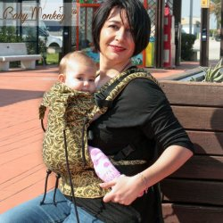 BabyMonkey ergonomic carrier Regolo Plumage Curry