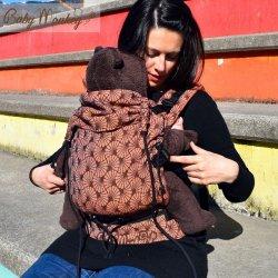 BabyMonkey ergonomické nosítko Regolo Papyrus Arancio