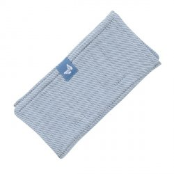 Fidella Drool Pads - Lines - light blue