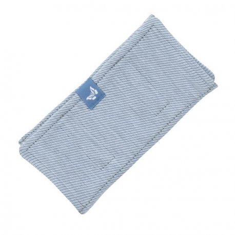 Fidella Drool Pads - Lines - light blue