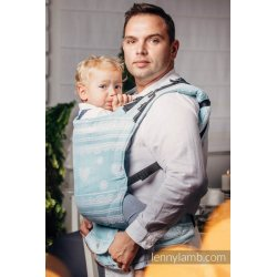 LennyLamb LennyUp adjustable ergonomic carrier Arctic Lace