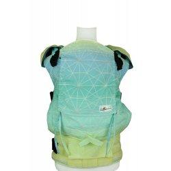Lenka ergonomical babycarrier - 4ever - Gossamer - Caribic
