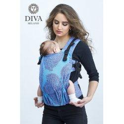 Diva Milano rostoucí ergonomické nosítko - Diva Essenza - The One! - Celeste