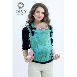 Diva Milano adjustable babycarrier - Diva Essenza - The One! - Menta
