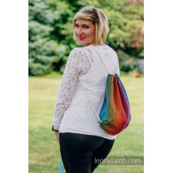 LennyLamb Bag SackPack Big Love Rainbow Dark