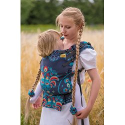 Natibaby babycarrier NatiGo Carrier Koguty Delight
