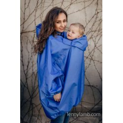 LennyLamb Babywearing raincoat - blue