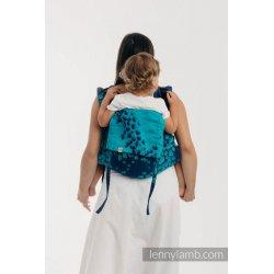 LennyLamb Onbuhimo zádové nosítko - Finesse - Turquoise Charm