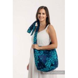 LennyLamb Hobo taška Finesse - Turquoise Charm