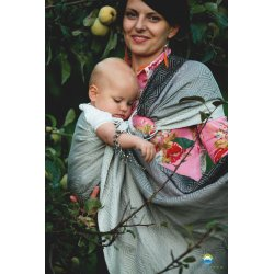 Little Frog ring sling Linen Monochrome Cube