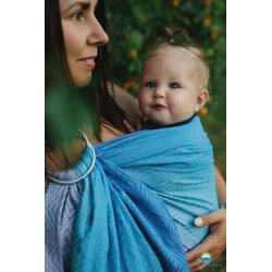 Little Frog Ring Sling Blueberry Cube