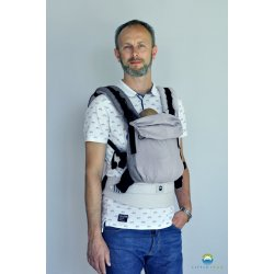 Little Frog ergonomic carrier - Howlite