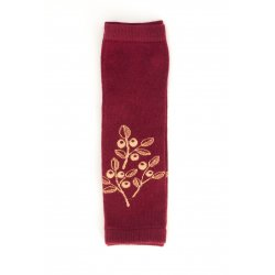 Baby leg warmers Loktu She - Cran Berry