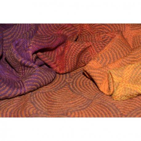 Yaro Ring Sling Gravity Duo Fire Grad Mocca Bronze Wool