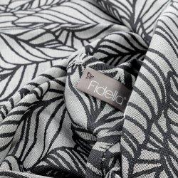 Fidella Dancing Leaves - Black & White
