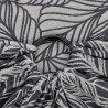 Fidella ring sling Dancing Leaves - Black & White