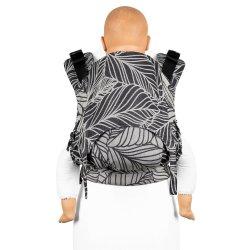 Fidella Fusion ergonomické nosítko s přezkami - Dancing Leaves - Black & White