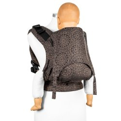 Fidella Fusion babycarrier with buckles - Mosaic - Mocha Brown