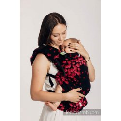 LennyLamb LennyUp adjustable ergonomic carrier Finesse - Burgundy Charm